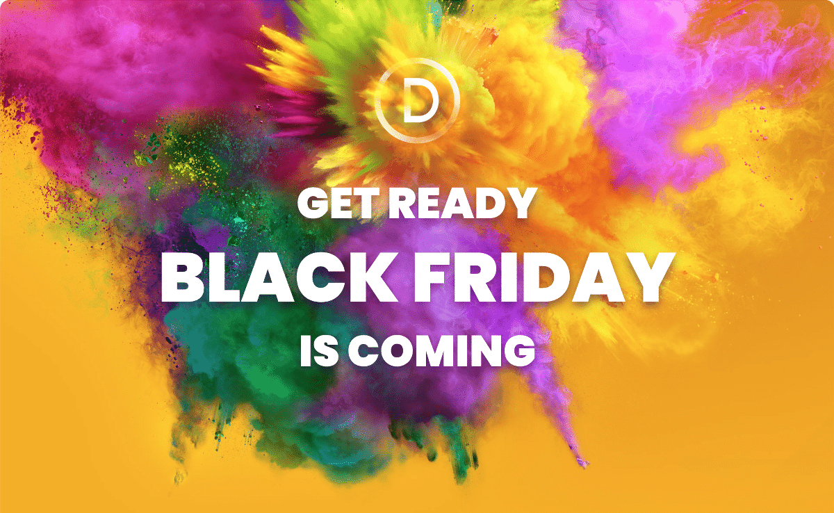 ElegantThemes Black Friday